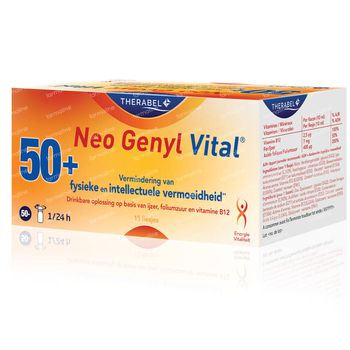 Neo Genyl Vital 15 ampoules