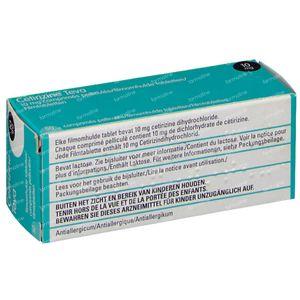 Cetirizine Teva 10mg 50 comprimés