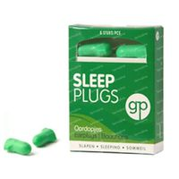 Get Plugged Sleep Plugs Bouchons d'Oreille 3 paire