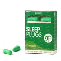 Get Plugged Sleep Plugs Bouchons d'Oreille 7 paire