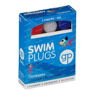 Get Plugged Swim Plugs Bouchons D'Oreille 3 pièces