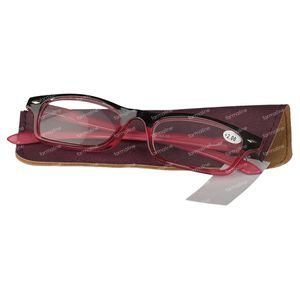 Pharma Glasses Reading Glasses Red +2 1 item