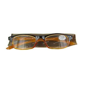 Pharma Glasses Lesebrille Gelb +3.5 1 st
