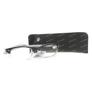 Pharma Glasses Reading Glasses Grey +1 1 stuk