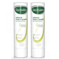 Dermalex Stick à Lèvres - Peau Sèche et Sensible 2ième à -50% 2x4 g