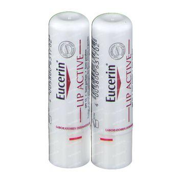 Eucerin Lip Active SPF15 DUO Prix Réduit 2x4,80 g