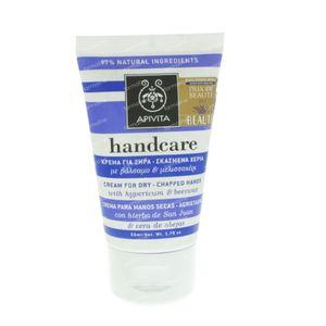 Apivita Hand Care Crème Voor Droge & Schrale Handen 50 ml Tube