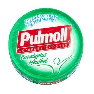 Pulmoll Hoestbonbons Eucalyptus - Menthol Zonder Suiker 45 g