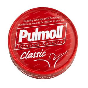 Pulmoll Classic Hoestbonbons Zoethout - Honing 45 g