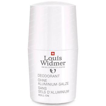 Louis Widmer Deo Roll-On Zonder Aluminiumzouten Zonder Parfum 50 ml