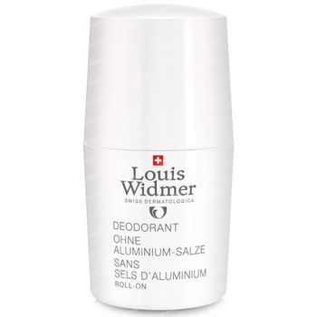 Louis Widmer Deo Roll-On Sans Sels d'Aluminium Sans Parfum 50 ml