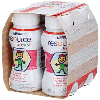 Resource Junior Fraise Cup 4x200 ml