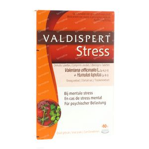 Valdispert Stress 40 tabletten