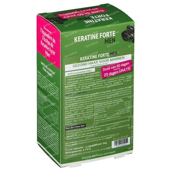 Biocyte Keratine Homme Pack 3x40 capsules