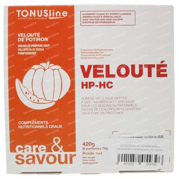 Tonus Line Velouté HP/HC Citrouille 420 g