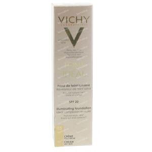 Vichy Teint Idéal Fond De Teint Lumiere 15 Clair 30 ml