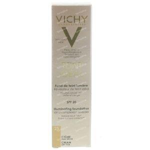 Vichy Teint Idéal Verhelderende Foundation Crème 25 Moyen 30 ml