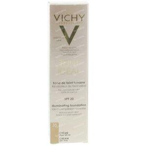 Vichy Teint Idéal Verhelderende Foundation Crème 35 Beige Dore 30 ml