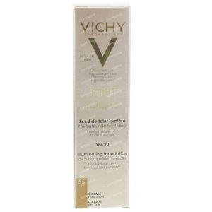 Vichy Teint Idéal Verhelderende Foundation Crème 55 Bronze 30 ml