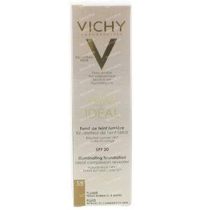 Vichy Teint Idéal Verhelderende Foundation Fluide 55 Bronze 30 ml