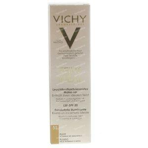 Vichy Teint Idéal Fond De Teint Lumiere Fluide 55 Bronze 30 ml
