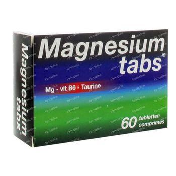 Magnesium Tabs 60 comprimés