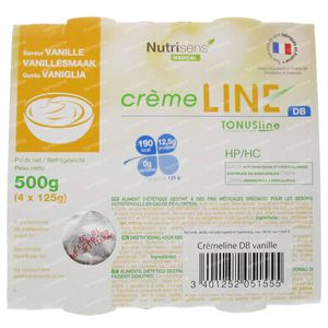 Tonus Line CrèmeLINE + DB Vanille Z/Lact 500 g
