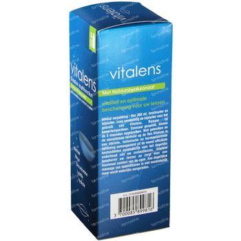Vitalens - Produit Lentille - Solution Multifonction pour Lentilles de Contact Souples 360 ml