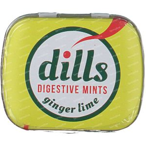 Dills Digestive Ginger & Lime Mints 15 g