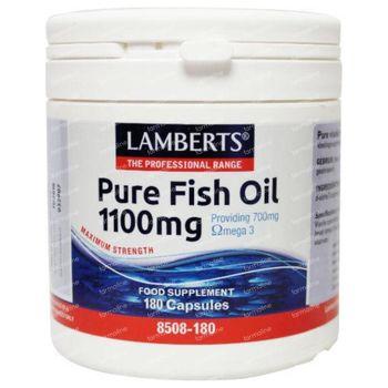 Huile De Poisson Pure Lamberts 1100mg 180 capsules
