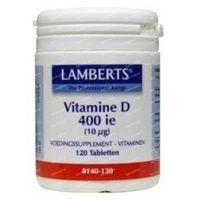 Vitamin D Lamberts 400IE 10mcg 120  tabletten