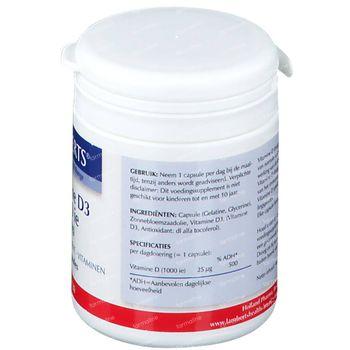 Vitamine D Lamberts 1000IU 25mcg 120 comprimés