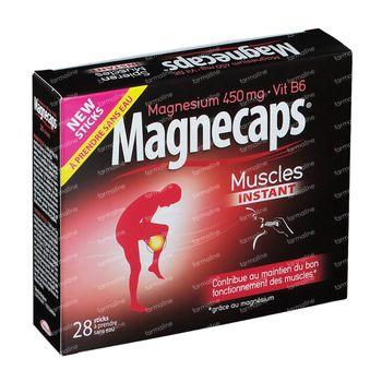 Magnecaps Muscles Magnésium 450mg & Vit B6 28 stick(s)