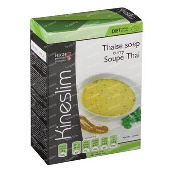 Kineslim Thaise Currysoep 4 zakjes