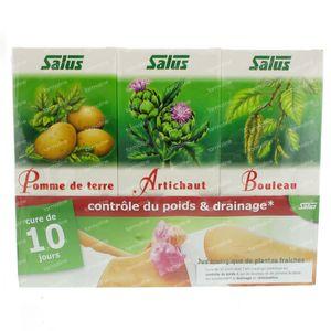 Salus Forfait Minceur Jus De Bouleau/Artichauts/Pommes De Terre 1 pièce