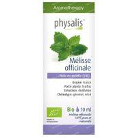 Physalis Mélisse Huile Essentielle Bio 10 ml