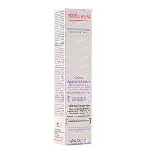 Topicrem Soothing Light Cream 40 ml