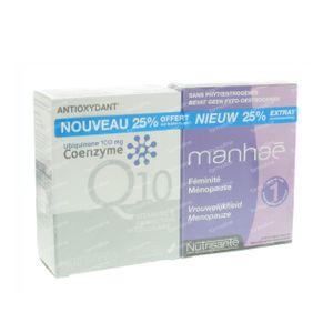 Manhae 30 Caps + Coenzyme Q10 Gel 30 30 capsules