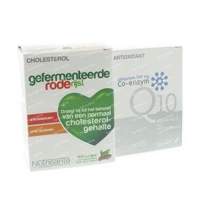 Coenzyme Q10 + Hefe Roten Reiz Gel 120 st