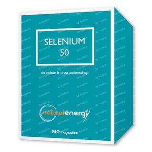 Natural Energy Selenium 50 180 kapseln