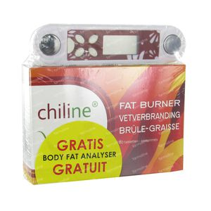 Chiline Vetverbranding + Lichaamsvet Meter Gratis 60 tabletten