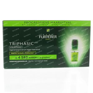 Rene Furterer Triphasic VHT ATP Intensif 44 ml ampoules