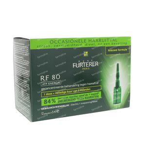 Rene Furterer RF 80 ATP Energy 60 ml ampoules
