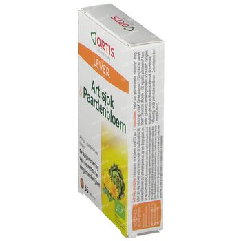 Ortis Artisjok Paardenbloem Bio 36 capsules