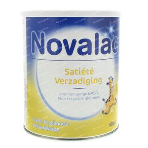 Novalac saturation  0-12 Mois 800 g