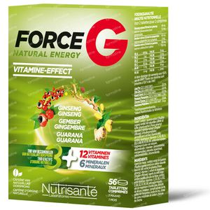 Nutrisante Force G Natural Energy 56 tablets