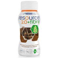 Resource 2.0 + Fibre Chocolade 4x200 ml