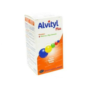 Alvityl Plus 90 tabletten
