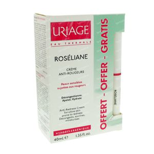 Uriage Roséliane Creme + Gratis Corrigerende Stick 40 ml crème