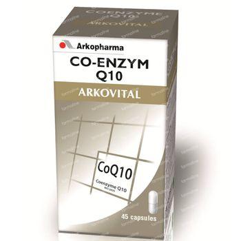 Arkocaps Arkovital Coenzyme Q10 45 capsules
